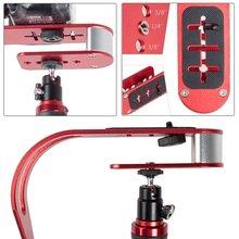 معدن مثبت يدوي Gimbal العالمي ل Gopro DSLR SLR كاميرا رقمية الرياضة DV الألومنيوم estabilizador دي كاميرا