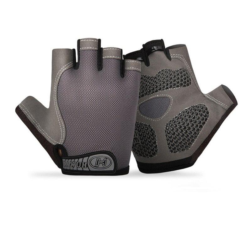 Guantes de Ciclismo transpirables para hombre y mujer, accesorios de medio dedo...