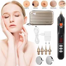 Facial Body Skin Dark Spot Remover Mole Tattoo Removal Machine Plasma Pen Pro EU/US Plug Freckle Pen Facial Beauty Instrument