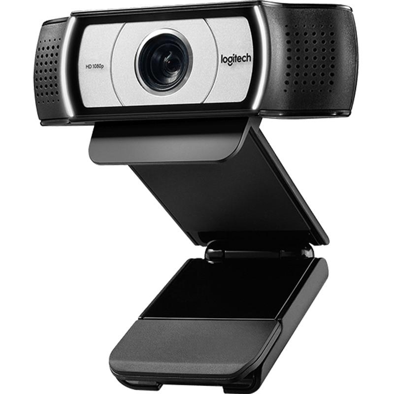 Logitech C930c / C930e cámara RED de enseñanza 1080P ordenador de escritorio portátil Video conferencia en línea Clase HD Webcam de belleza