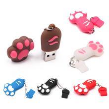 Cat Claw Model PVC 16GB Pendrive USB 2.0 Flash Drive U Disk Memory Stick