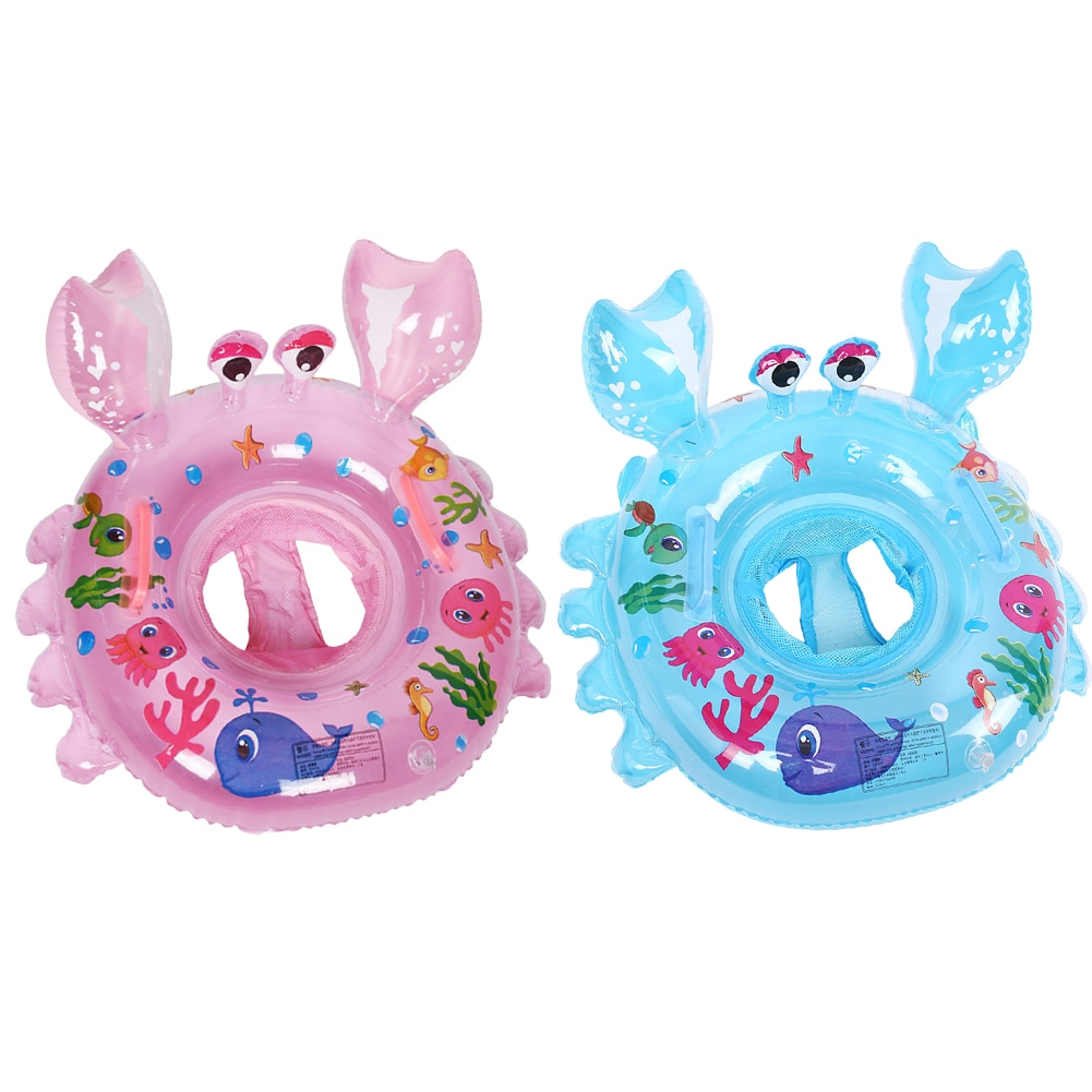 Cartoon Children Swimming Ring Pool Inflatable Float Circle Baby Seat Toys Buoy Swim Accessories
