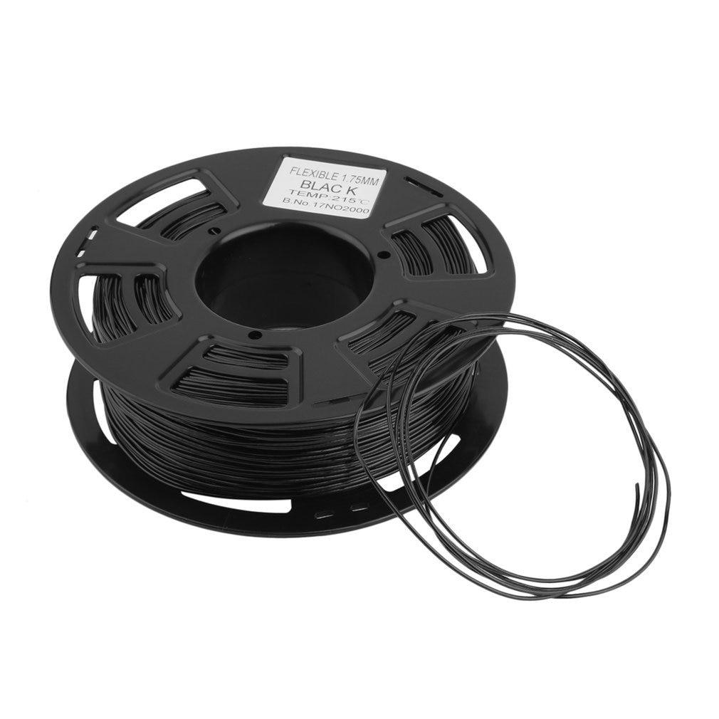Hohe Leistung 1,75mm TPU Schwarz Filament 3D Drucker Druck Material Lieferungen 0,9 KG Für 3D Druck Stift 3D Drucker