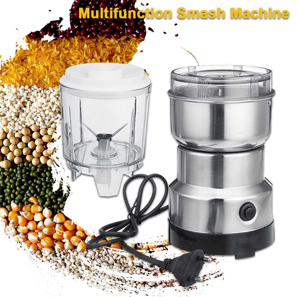 Многофункциональная электрическая кофемолка 110 В/220 В-измельчение орехов, специй, блендер, соковыжималка