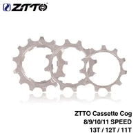 891011 speed cycling bicycle parts bicycle freewheelsprocket freewheel cassette cog gear 111213t for mtb road bike