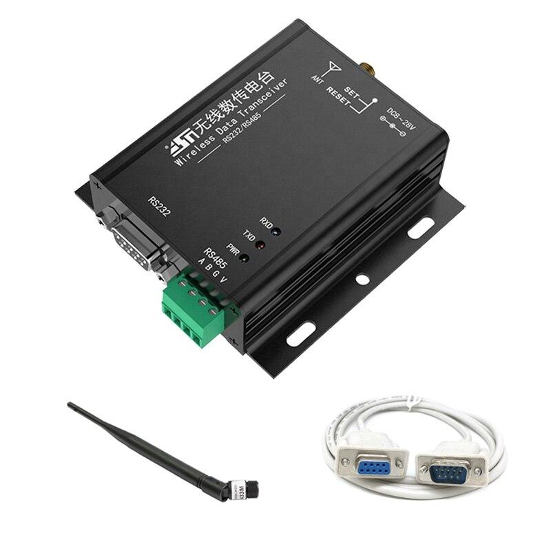 433 MHz, 500 mW, espectro extendido LORA, TEC, AES, transceptor de datos con interfaz RS232/485, basado en RF original SX1278