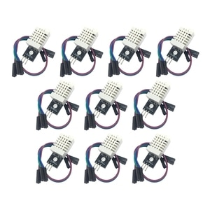 10PCS DHT22 Digital Temperature and Humidity Sensor AM2302 Module+PCB with Cable