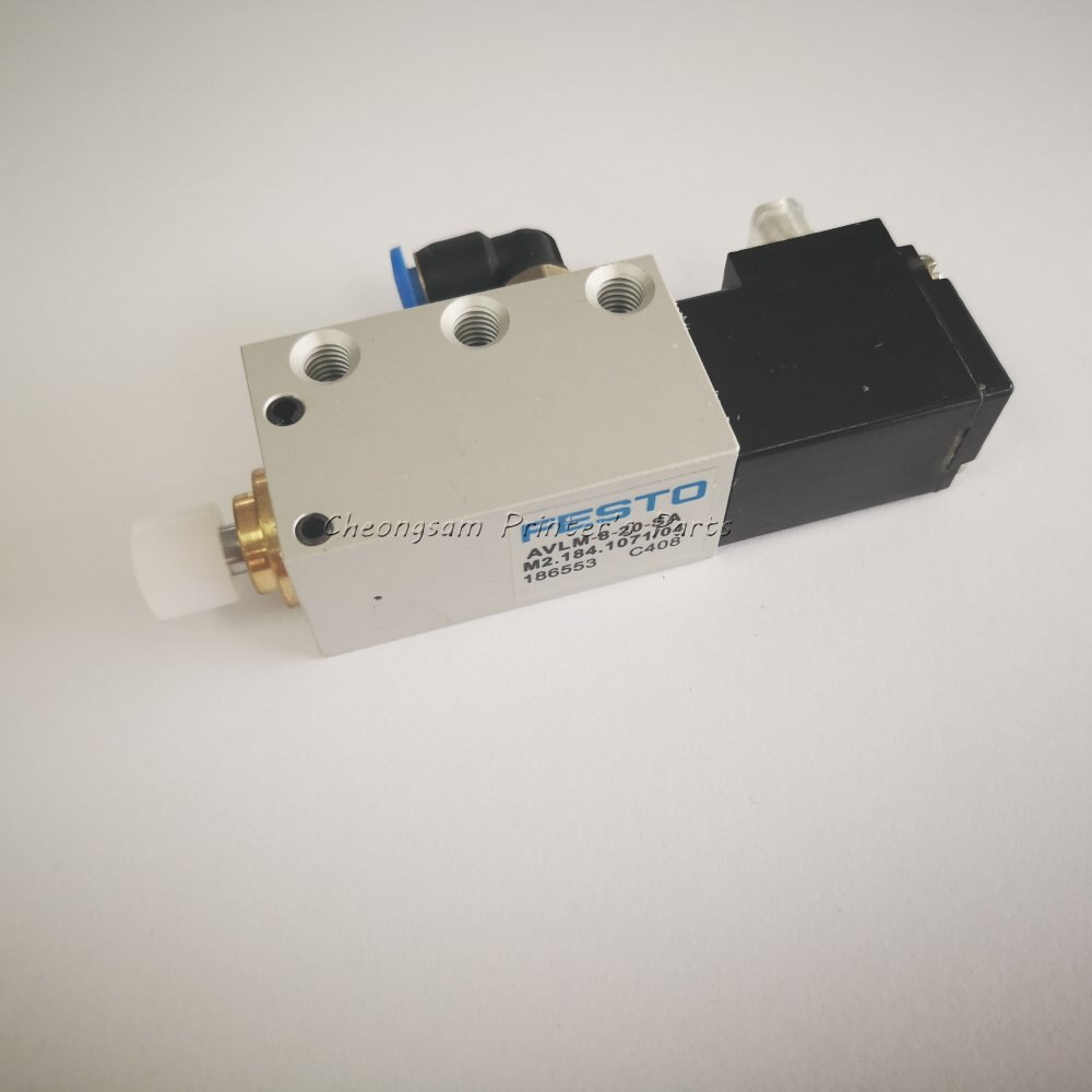 Festo MEH-3-24V DC AVLM-8-20-SA M2.184.1071 соленоид SM74 SM102 CD102 машина цилиндр клапан
