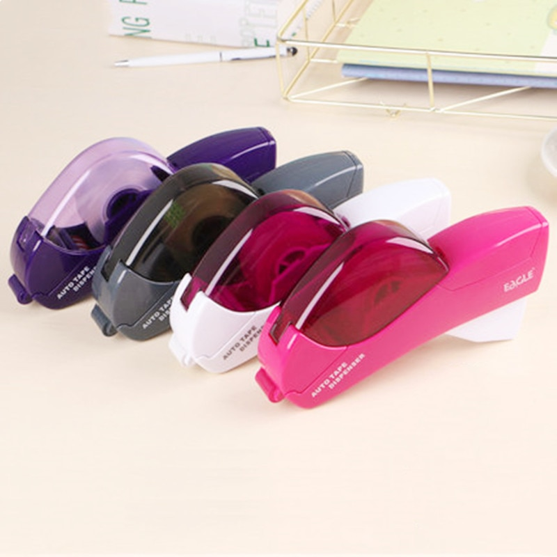 Intelligent automatic tape cutter handheld tape machine paper cutter suitable for tape 12/19mm office school supplies
