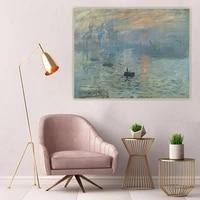 citon claude monet%e3%80%8aimpression soleil levant%e3%80%8bcanvas art oil painting artwork poster picture wall background decor home decoration