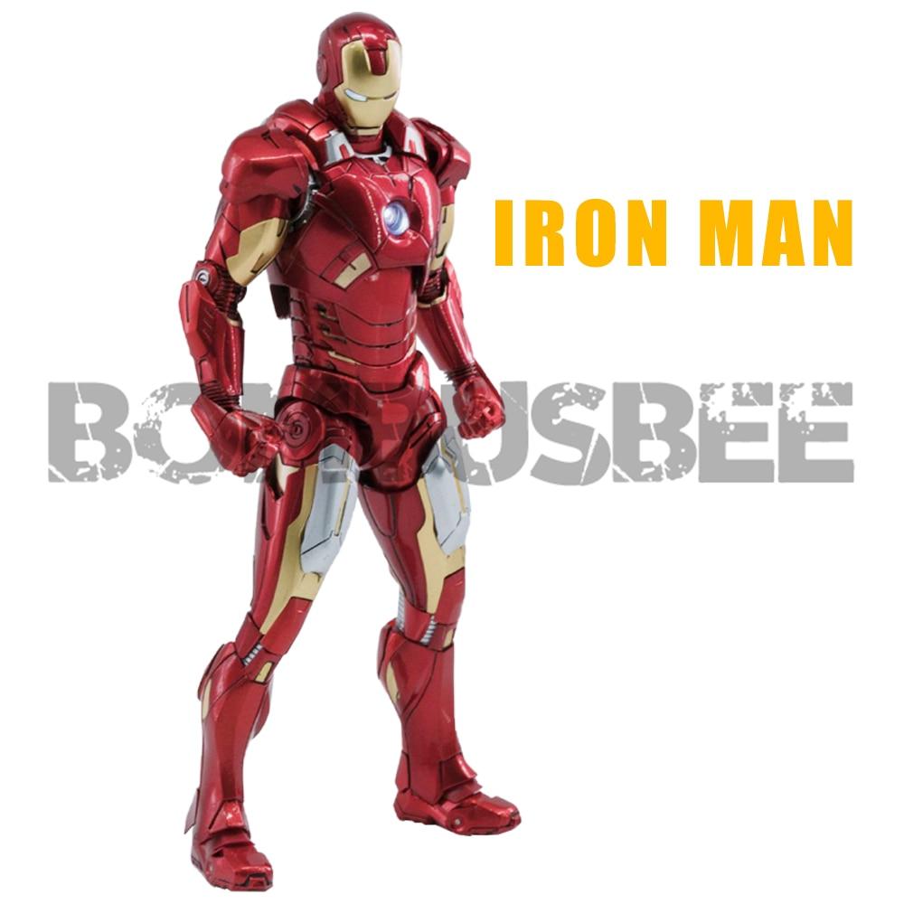 【IN STOCK】Comicave Железный человек MK7 Литой Сплав 1/12 масштаб фигурка модель подарок для детей фигурка робот игрушка