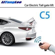 LiTangLee Auto Elektrische Schwanz Tor Lift Stamm Hinten Tür Assist System für Citroen C5 RD TD 2007 ~ 2017 Original schlüssel Fernbedienung