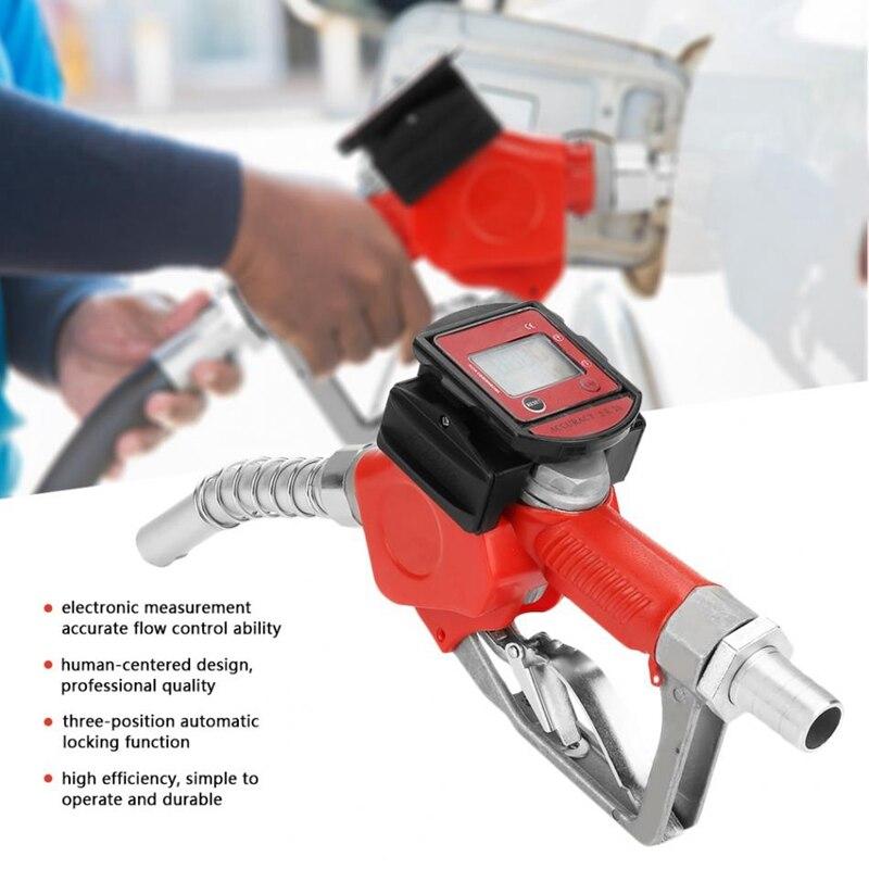 Digital de Combustível Injetor De Óleo Querosene Gasolina Bico Bocal de Abastecimento Adaptador Adaptador de Trilho De Combustível Testador com Medidor De Fluxo
