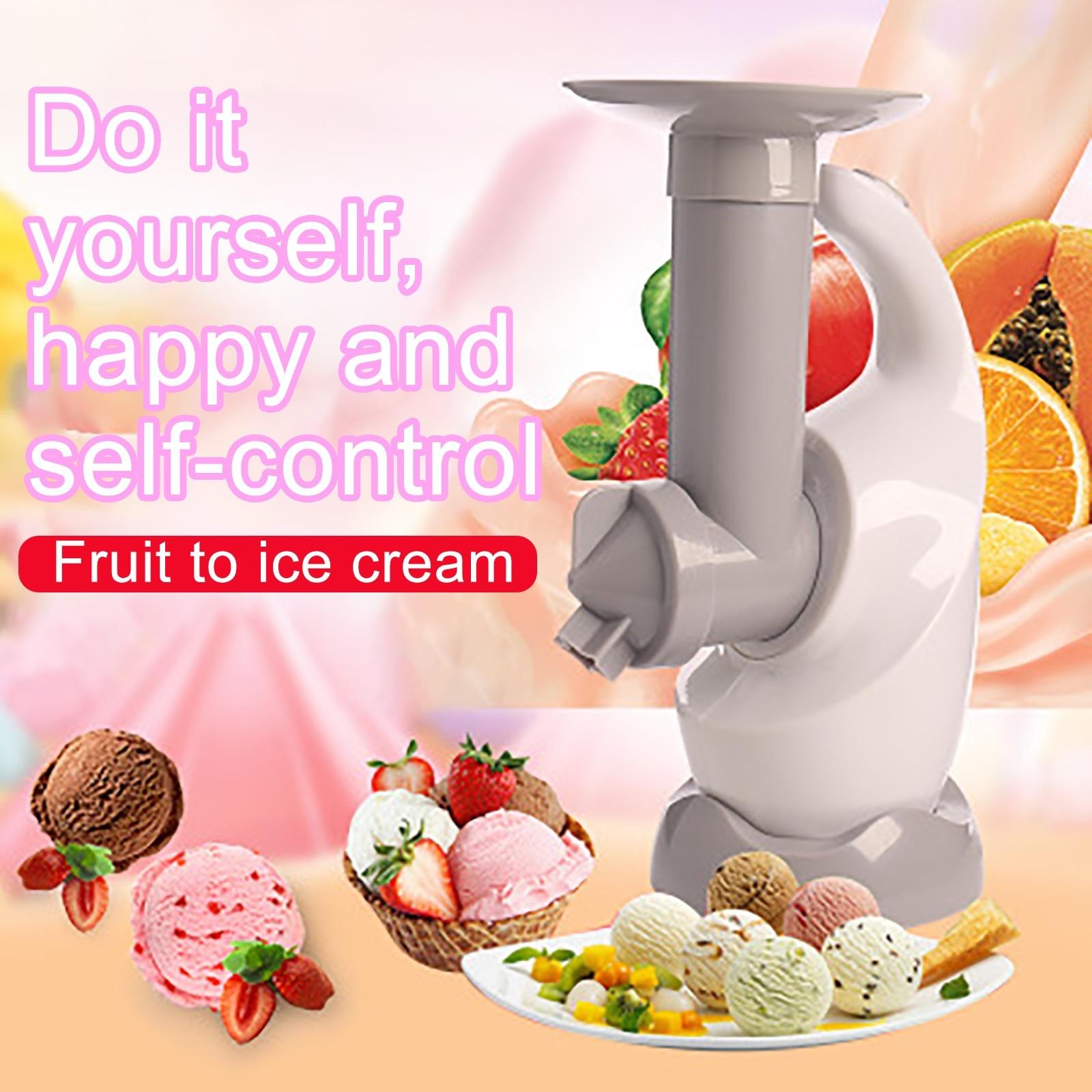 Home Ice Cream Maker Machine Make Delicious Ice Cream Sorbets And Yogurt Maker Automatic Mini Ice Cream Machine Household