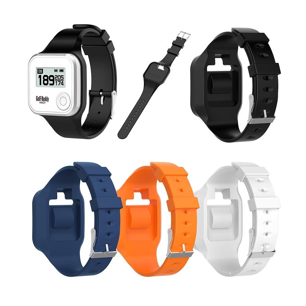 Nuevo reloj de pulsera de silicona para Golf Buddy voz/Voz 2 GPS telémetro