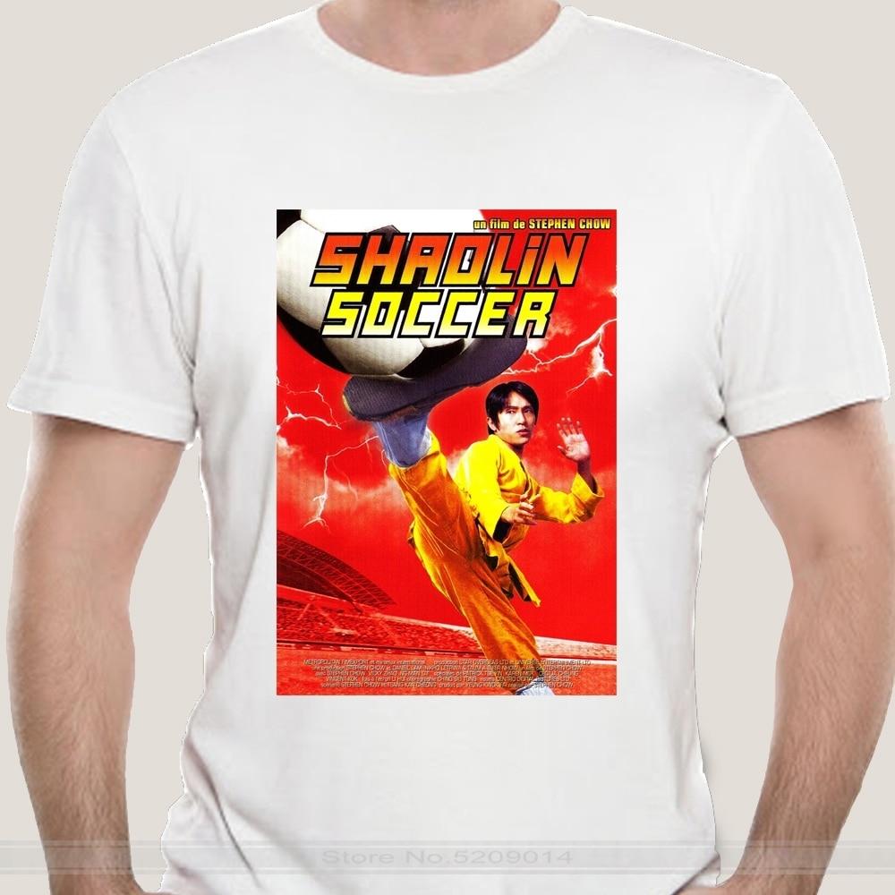 Männlich marke teeshirt männer sommer baumwolle t shirt Männer T Shirt shaolin fußball t-shirt rot t-shirts