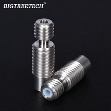 Yüksek Kaliteli V6 Isı Arası BowdenThroat Tüm metal PTFE Süper Pürüzsüz Hotend 1.75MM Filament besleme tüpü 3D yazıcı