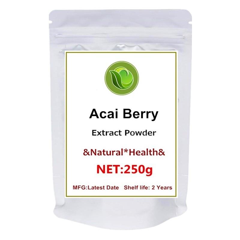 100% puro baya Acai Natural 20:1 extracto en polvo