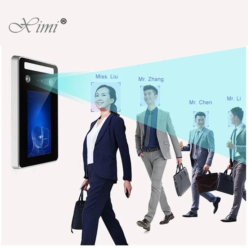 New IP65 Waterproof Dynamic Face Facial Recognition Terminal Door Access Control System With RFID Ca
