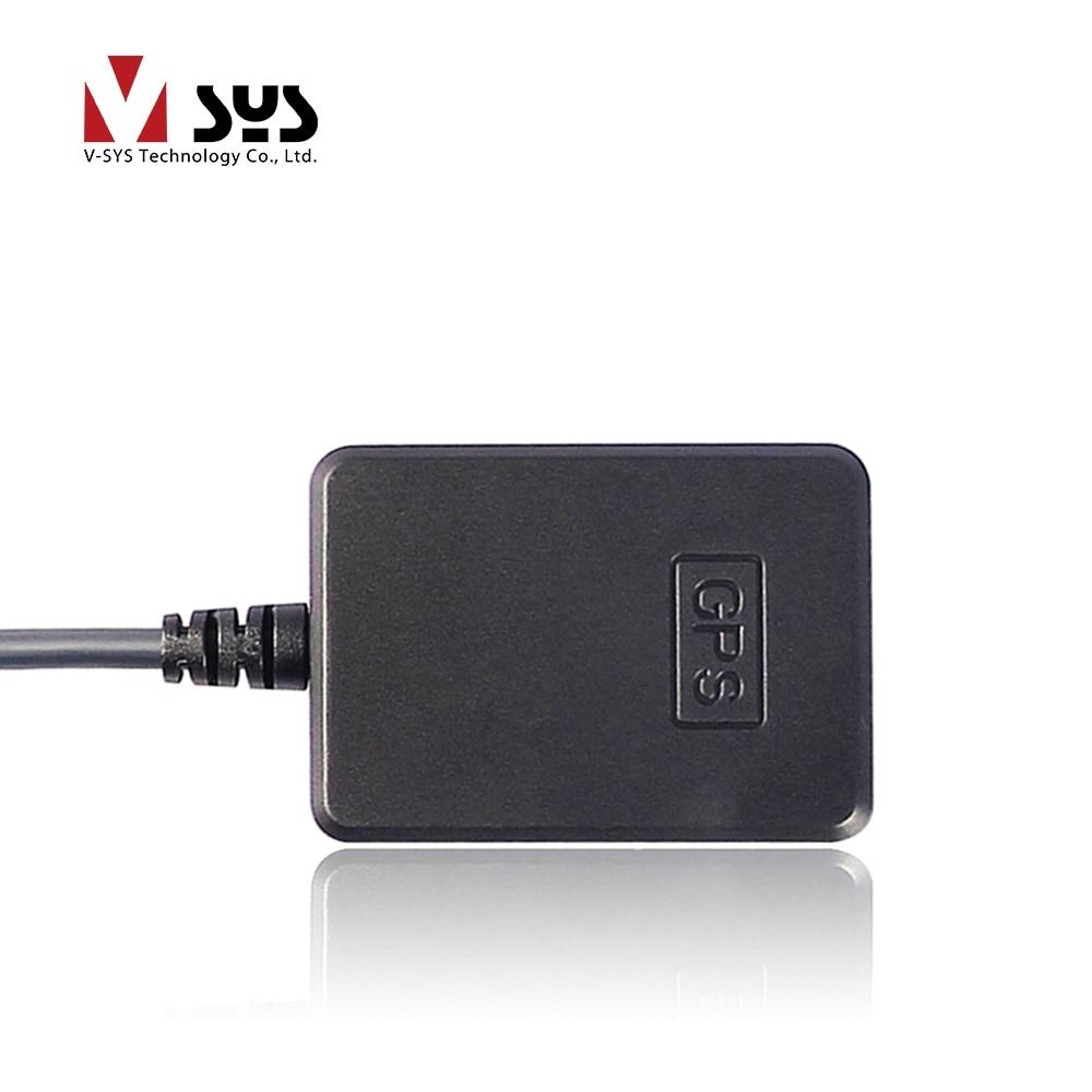 [해외] SYS VSYS C6/M6L/M6/M2F/P6/P6FL/P6F/P4.5 오토바이 DVR 대시 카메라 레코더용 2.5m 연장 케이블이 있는 GPS 트래커