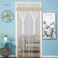 summer magnetic curtains screen mesh on the door mosquito net anti fly insect door mesh automatic closing size can be customized