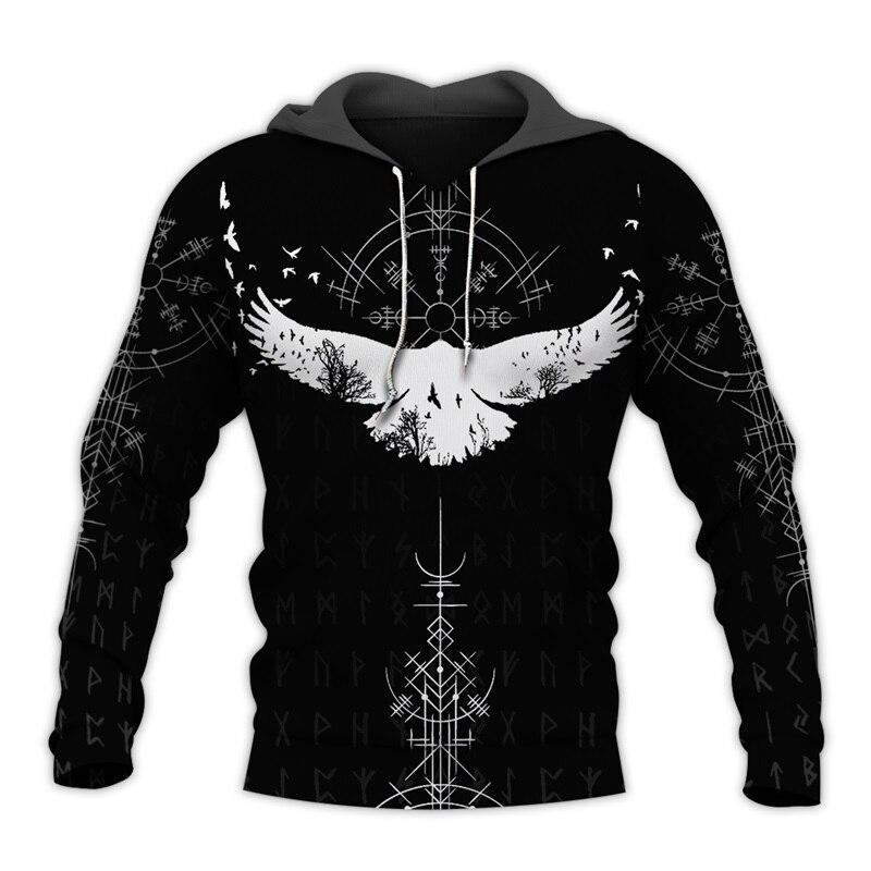 Plstar cosmos viking guerreiro tatuagem 3d impresso camisas casuais 3d impressão hoodies/moletom/zíper homem mulher satã tatuagem-46