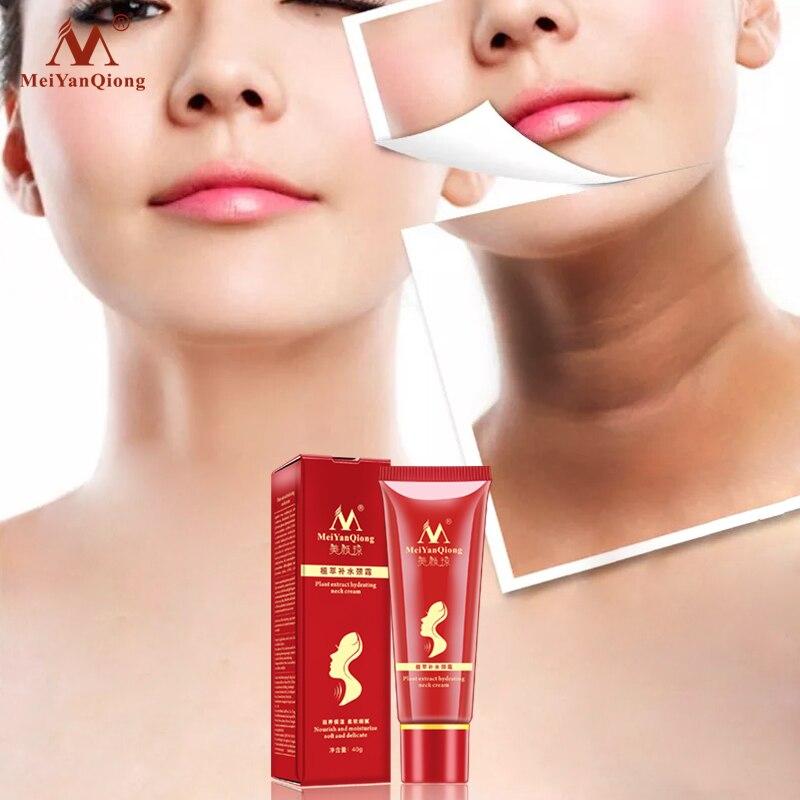 2021 Plant Extract Hydrating Neck Cream Nourish Moisturizing Soft Delicate Fade Fine Lines Reduce Do