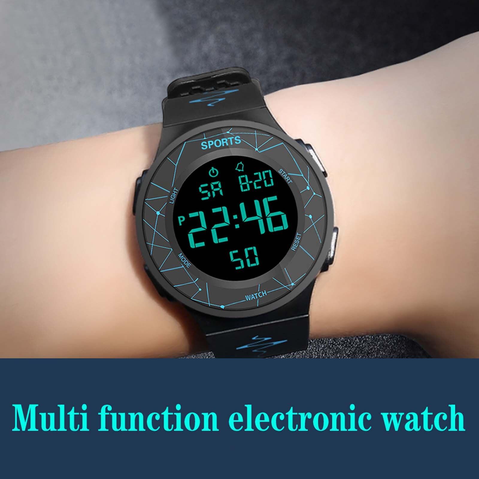 New Honhx Luxury Mens Digital Led Watch Date Sport Men Outdoor Electronic Watch Curren Watch Men Часы Мужские Erkek Kol Saati