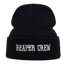 Thetv Sons Of Anarchy Borduurwerk Patch Reaper Crew Vizier Samcro Man Baseball Cap Punk Zwarte Motorfiets Caps