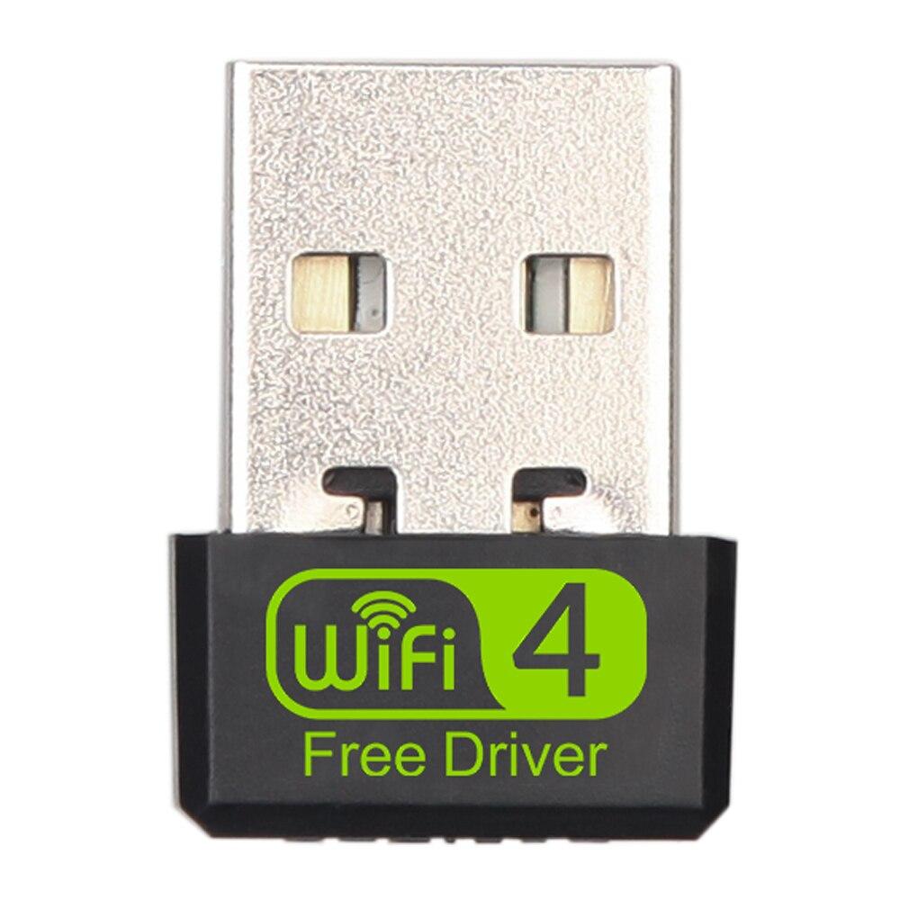 Мини USB WiFi адаптер 150 Мбит/с беспроводной Wi-Fi адаптер для ПК USB Ethernet Wi-Fi модем 2,4G сетевая карта антенна Wi-Fi приемник