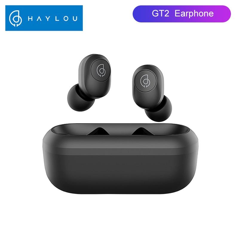 Haylou GT2 HD estéreo Bluetooth auriculares emparejamiento automático Mini TWS auriculares inalámbricos Touch Control Gaming auriculares