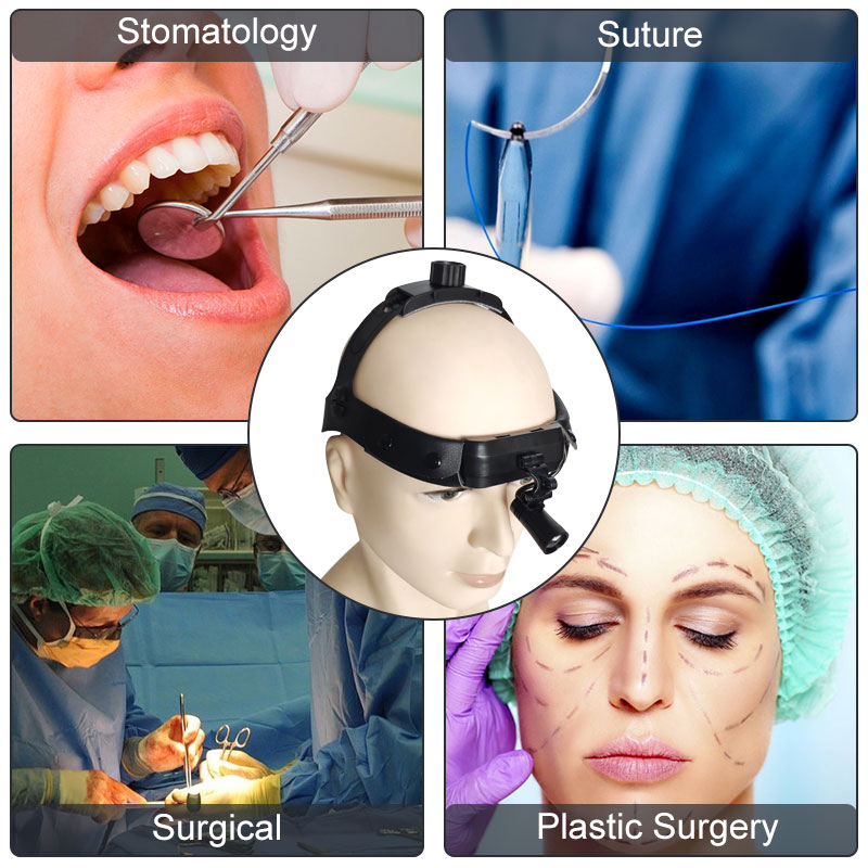 85000LUX LED Surgical Dental Medical Headlight High Optical Efficiency Headlamp ENT Oral Plastic Surgery Light Lamp with Battery enlarge