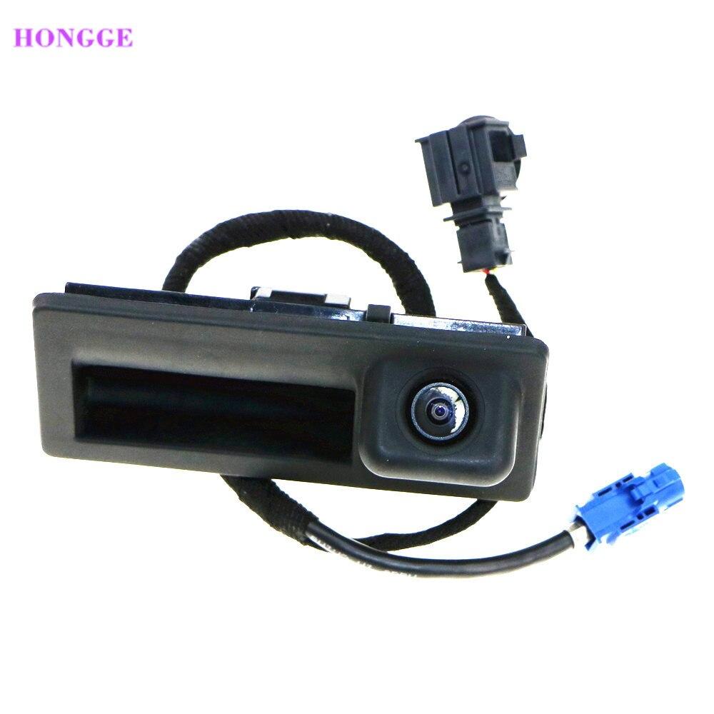 HONGGE nuevo 56D 827 566 RCD510 RGB cámara de Vista trasera RVC de escarabajo Passat B6 B7 Golf MK6 Scirocco Polo 56D 827 566A