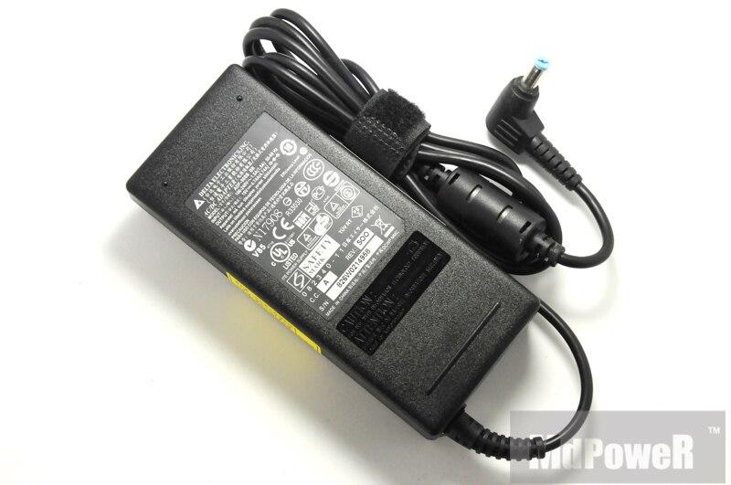 الأصلي لشركة أيسر 19 فولت 4.74A ADP-90SB BB محمول التيار المتناوب محول شاحن أسباير V3-571G 4741 جرام 4752 جرام ADP-90CD DB PA-1900-32 24 04