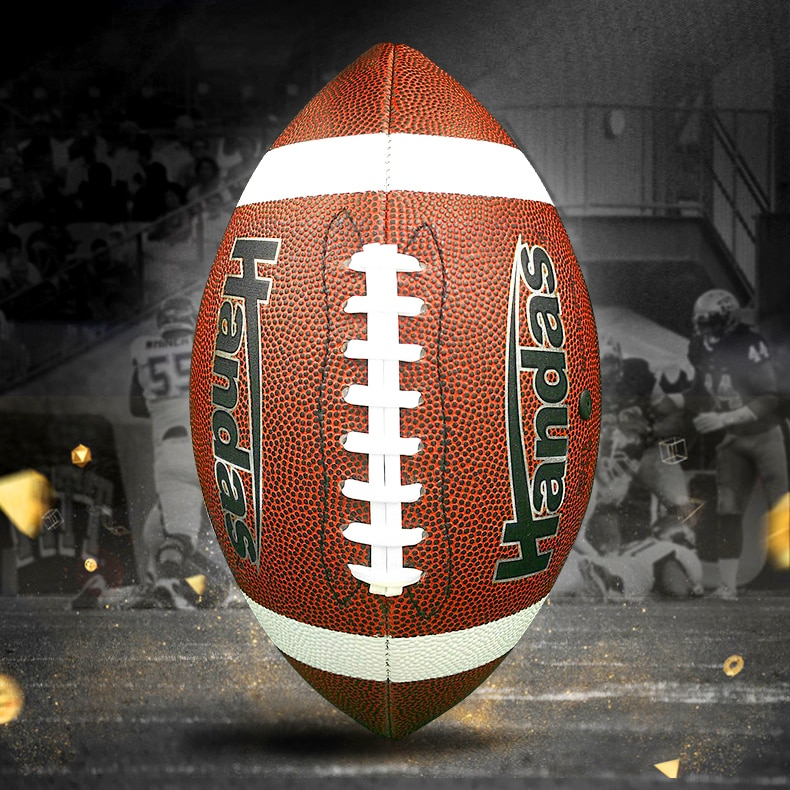 Rugby American Football Standard Game Adult No. 9 Youth No. 6