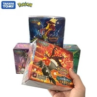 360pcs tomy pokemon shining fates cards game gx ex vmax transaction collectible cards board game feyenoord battle carte shining