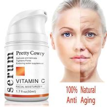 50ml Skin Care Products Vitamin C Cream For Anti-Aging Anti Wrinkle Moisturizing Whitening Tightenin