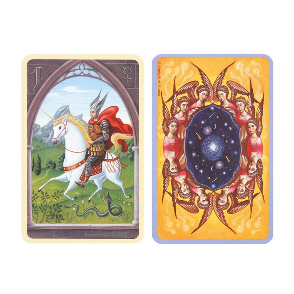 36PCS Tarot Cards Deck Coated Paper Cards For Mystical Lenormand Oracle Game Cards Durable Innovative Party New Arrival