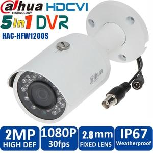 HD1080p Dahua HDCVI Camera 2MP DH-HAC-HFW1200SP HDCVI IR Bullet  Security Camera CCTV IR distance 30m HAC-HFW1200SP