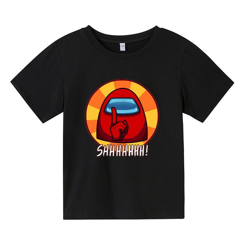 Cartoon Spy Game Baby Kids Boys Girls Children Spy Game T Shirt Short Sleeves Summer Clothing Print Tee Football Shirt Clothes