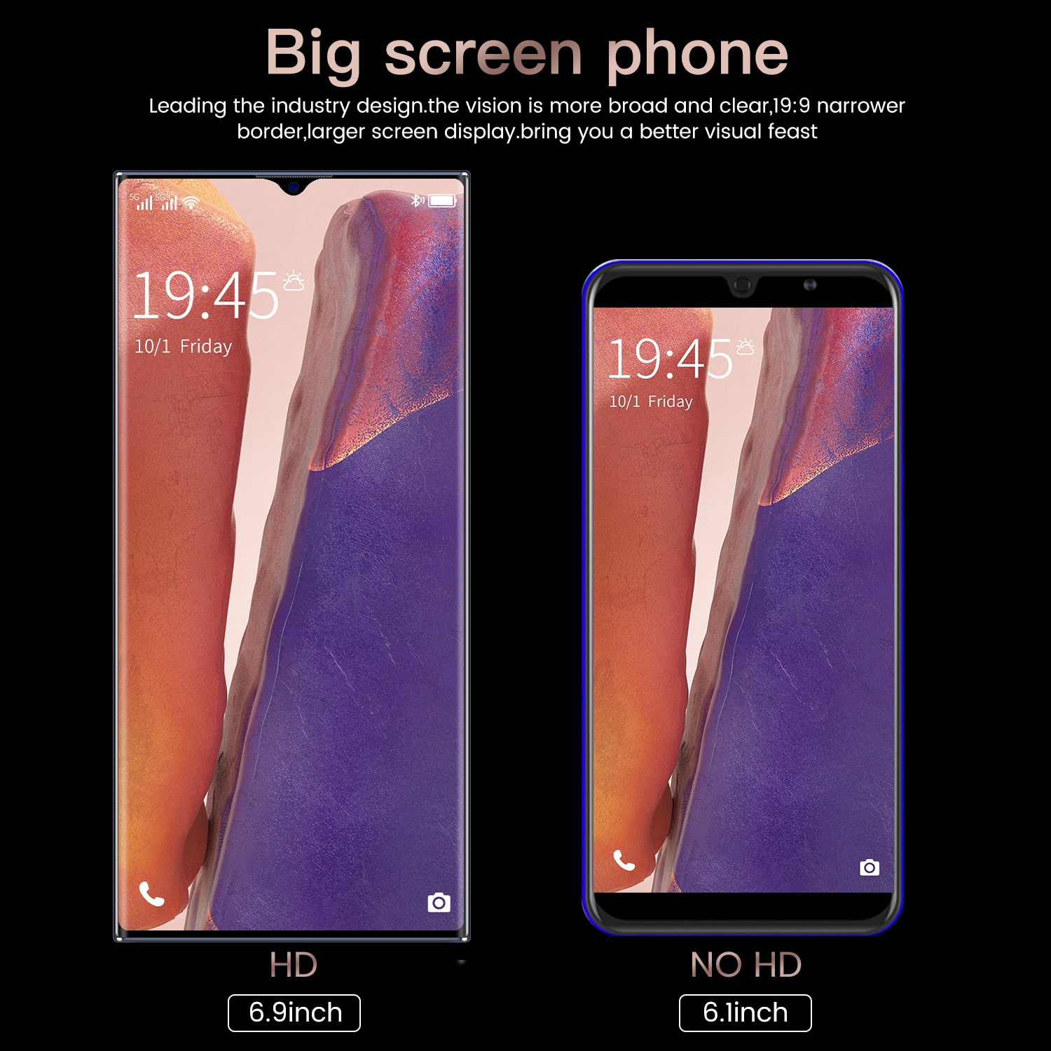 Note 30+ Smartphone Global Version cellphone  6.9 inch Full Screen Deca Core 6000mAh 12GB 512GB 4G LTE  Network Mobile Phone enlarge