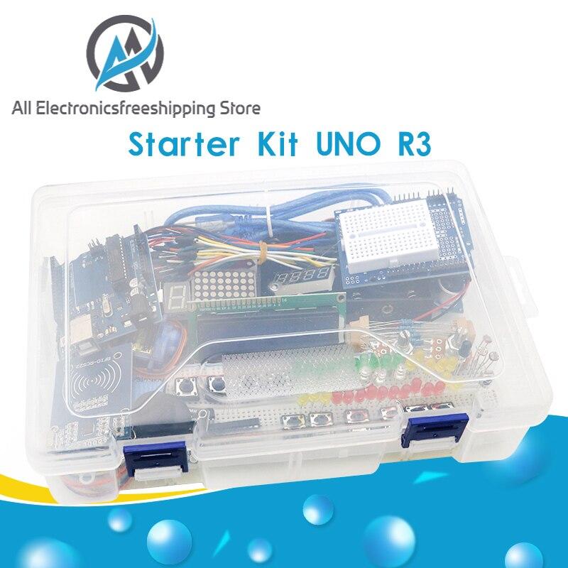 Стартовый комплект для arduino Uno R3, макет�