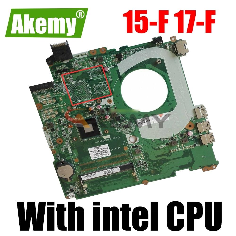 DAY12EMB6C0 For HP بافيليون 15-F 17-F اللوحة الام للابتوب 787515-501 787515-001 787515-601 مع انتل CPU 100% تم اختبارها بالكامل