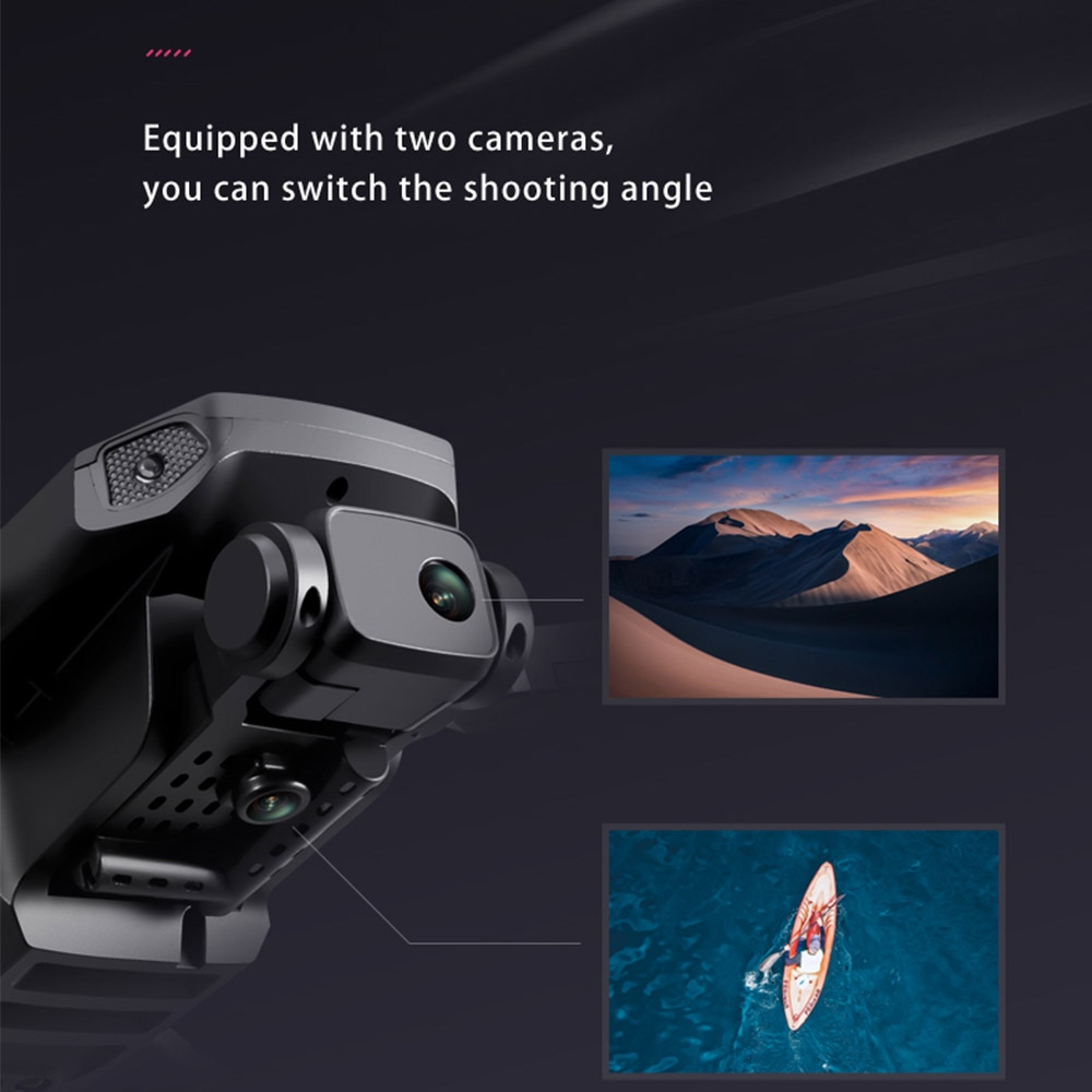 C18 RC Drone Foldable Quadcopter with 4K HD Camera WiFi FPV Remote Control 5G 6 Axis 4 Channels 1503 Brushless Motor GPS enlarge