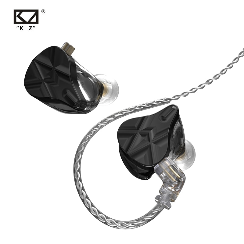KZ ASF10 BA Units HIFI Bass In Ear Earphones Sport Balanced Armature Headset Noise Cancelling Earbuds ASX ZAX EDX Z1 S2 SA08 enlarge