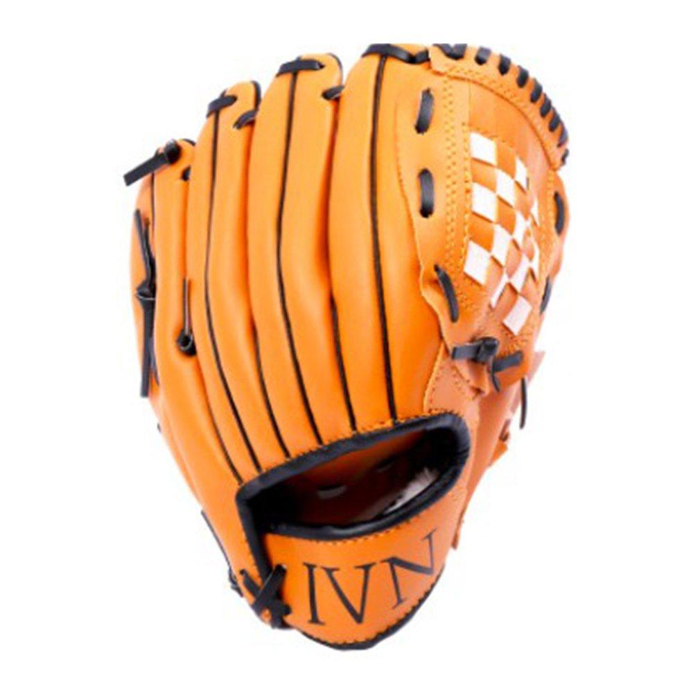Бейсбольные перчатки из ПВХ, Детские тренировочные перчатки для бейсбола и мягкого мяча, профессиональные аксессуары