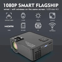 UNIC     projecteur LED 3000 Lumens  resolution 1280x720  1080P  Full HD  HDMI  wi-fi  ecran LCD  pour jeu video  cinema a domicile