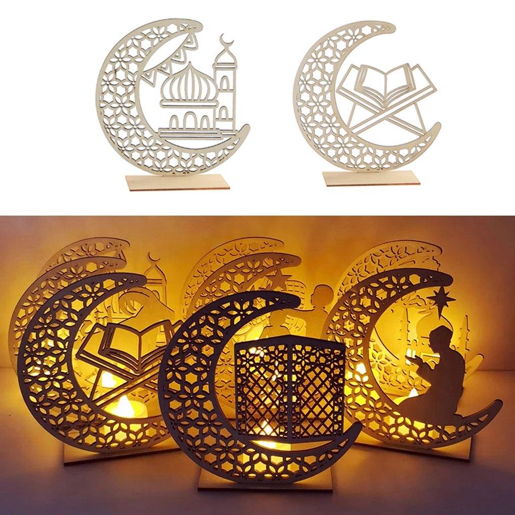 Eid Mubarak Decor Ornament Light Eid Ramadan Decor for Home Ramadan Mubarak Eid Islamic Muslim Party Decor