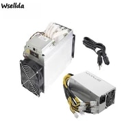 secondhand bitmain antminer l3 504m asic professional mining machine with 1800w high power power supply mining rig btc ltc doge
