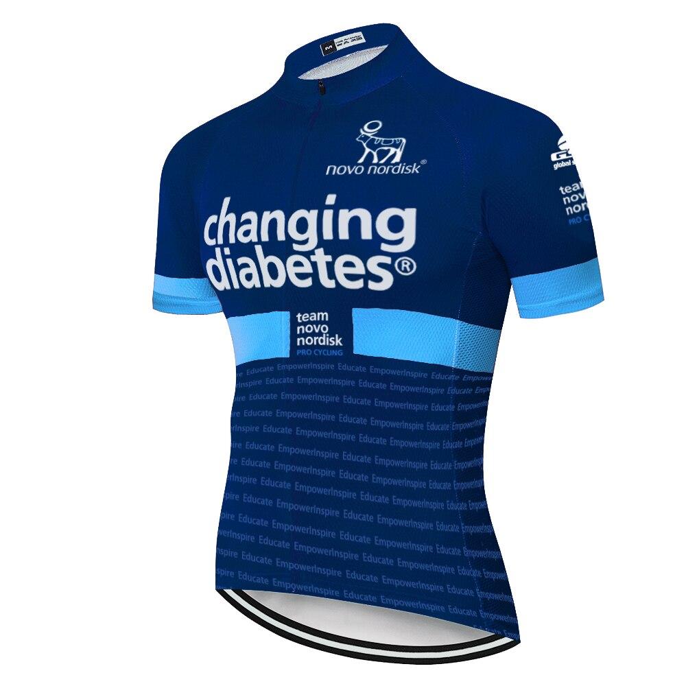 Pro team-Camiseta de verano para ciclismo, de manga corta y transpirable, para hombre, 2020